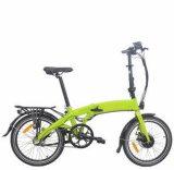 20 pouces 250-500W pliant la bicyclette électrique