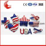 Emblema do Pin do tipo de produto dos emblemas e do Lapel das técnicas da cópia