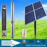 Bomba solar para a irrigação, bomba de água solar do elevador elevado, bomba solar da C.C.