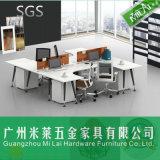 Sitios de trabajo del personal de oficina de las piernas del metal de los muebles del precio de fábrica
