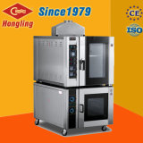 Печь 110V конвекции горячего воздуха газа подносов Hongling 5 с Proofer