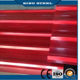 Лист толя Corrugated металла цвета стальной