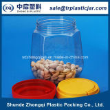 Haustier Plastic Food Container mit Colorful Plastic Lid