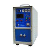 Máquina que cubre con bronce ahorro de energía portable de la calefacción de inducción el de alta frecuencia IGBT