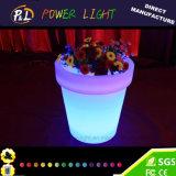 Farbe-Ändernde Hausgarten-Möbel LED geleuchtet ringsum Pflanzer