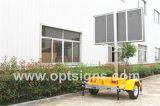 Indicador video ao ar livre montado do diodo emissor de luz P10 de Austrália reboque padrão