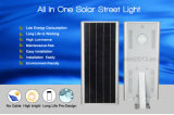 2017 Novo Produto Exterior IP65 Waterproof Road Lamp 150lm / W Integrated All in One Solar LED Street Light