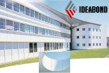 2016 revestimento moderno material da parede exterior da forma PVDF do projeto quente