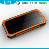 Silicone防水Flashlight Solar 10000mAh Powerバンク(NP-005)
