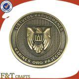 Kundenspezifischer Überzug-Silbermünze ohne Farbe