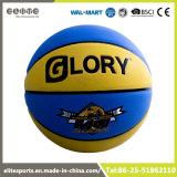 El baloncesto al por mayor del PVC del mayor con insignia imprimió