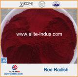 自然な食品着色料の赤いラディッシュのラディッシュの赤の顔料