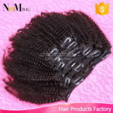 Vente en gros Remy Hair Extension 7PCS 120g Pre Colored Clip Hair
