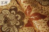 Tissu de fleur de Chenille d'usine de fabrication