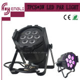 7PCS*10W LED DMX Notwaterproof Indoor Wash Light voor Stage DJ