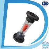 Прозрачный ротаметр пластмассы низкой стоимости измерения воды