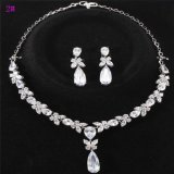 Ювелирные изделия Set Xuping Silver Color CZ Stone Luxury Wedding (set-16)