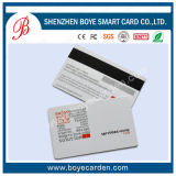 Cartão plástico do membro da tira magnética do PVC
