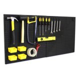 Power Toolsのための展覧会Equipment Supermarket Pegboard Floor Display Rack