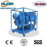 Sola máquina de la purificación de petróleo del aislante del vacío
