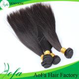 Cabelo humano reto da boa extensão indiana do cabelo do Virgin de Remy do preço
