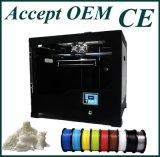 Impressora 3D Desktop material industrial do PLA Fdm