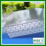 Roofing를 위한 Zhejiang Aoci 6mm-18mm Honeycomb Reinforced Polycarbonate Sheet
