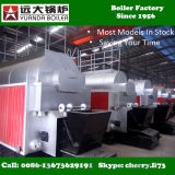 Surtidor encendido carbón de la caldera de vapor de Dzl 2000kg 4000kg de la estructura compacta