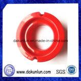 CNC maschinell bearbeitete rote Plastikbuchse