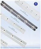 Anillo cuadrado Nilón-Revestido blanco para la ropa interior/la ropa interior/las enaguas