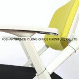 Подгонянные выдвиженческие стулы встречи ткани сетки для офиса
