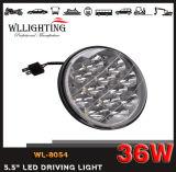 Carro auto campo a través del coche LED del LED 4X4 36W que conduce la linterna