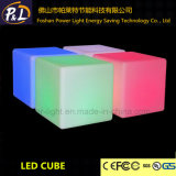 LEDの家具の多彩な照明正方形の椅子