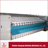 Macchina per stirare del riscaldamento elettrico e strumentazione ad un rullo della lavata