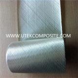 17oz +-45 tela biaxial diagonal doble del Knit de la fibra de vidrio