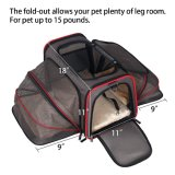 17-19インチ航空会社旅行猫または犬のベッド小さい動物のトートバック
