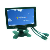 VGA/AV Input를 가진 7 인치 Touch Screen LCD Monitor