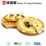 Bamboo доска сыра и комплект инструмента