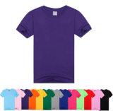 Heet Katoenen van de Mensen van het Embleem van de Verkoop Silkscreen Afgedrukt Overhemd