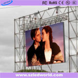 P6 gieten-matrijs-Casting Outdoor/Indoor Rental LED Display Screen voor Video Advertizing (640X640, Ce, RoHS, FCC)