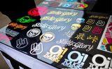 Kundenspezifisches Vinylselbstklebender Förderung-Aufkleber