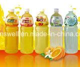 Remplisseur de mise en bouteilles en plastique de jus