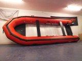 Grand bateau de sauvetage gonflable d'aviron de bateau de pêche de bateau de 8 mètres