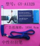 Promozione Plastic Flyer Pen con Custom Logo