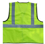 Safety reflexivo Vest Provides High Visibility Day & Night para Running, Cycling, Walking etc.