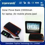 Alimentazione elettrica per tutti gli usi solare del caricatore 23000mAh per iPod, Mobile, computer portatile, MP3, MP4
