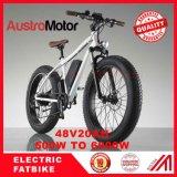 bici gorda eléctrica de la bici eléctrica gorda de 72V30ah 1500W 2000W con el MEDIADOS DE motor del eje del motor