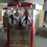De slimme Machine van Granita van de Sneeuwbrij van de Compressor van de Invoer van de Tank van Comai 12L*2double van het Systeem van de Controle