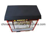 Máquina de lujo de la palomitas con el pote del acero inoxidable en color rojo con eléctrico