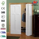 Porta Bi-Fold de Closte da madeira contínua